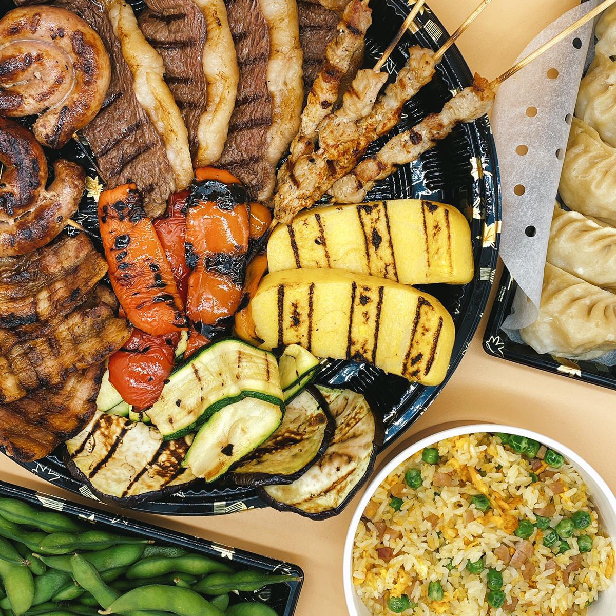 Box grigliata di carne takeaway woking verona