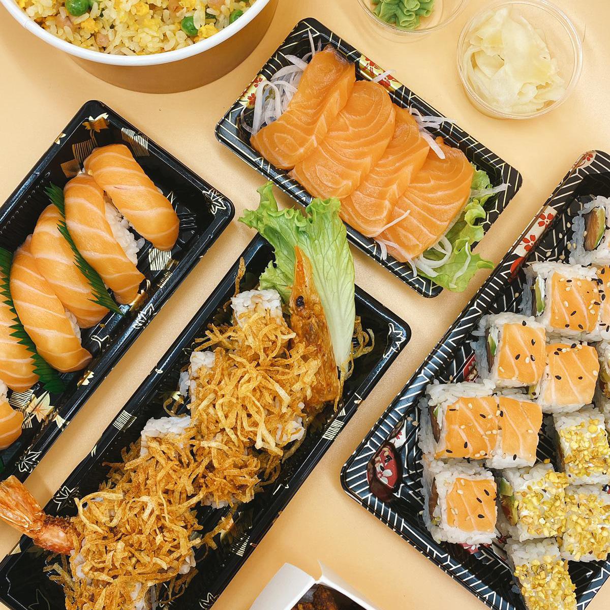 box sushi take away woking verona